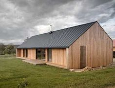 Modern House Design : Maison Simon by Mathiew Noel and Elodie Bonnefous Architectes Rural House, House In The Woods, Metal Building Homes, Building A House, Style At Home, Residential Architecture, Architecture Design, System Architecture, Architecture Interiors