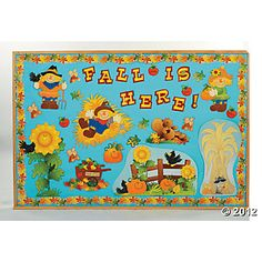 Fall Harvest Bulletin Board Decorations