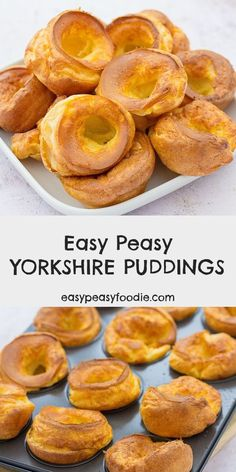 These homemade Yorkshire puddings are so easy peasy and taste so amazing, you will never again even consider buying ready-made yorkies! Better still they rise perfectly every time, only take 5 minutes hands-on time and are practically foolproof #yorkshirepuddings #easyyorkshirepuddings #foolproofyorkshirepuddings #easypeasyyorkshirepuddings #homemadeyorkshirepuddings #roastdinner #roastbeef #roastbeefandyorkshirepuddings #yorkshirepuddingtin #vegetarian #easydinners #sundaylunch…