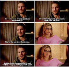 Arrow - Felicity & Oliver #4.11 #Olicity ♥