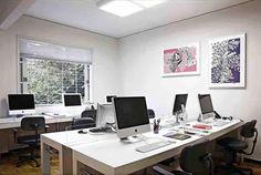 open workstation/desks