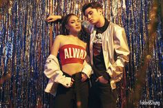 On Nadine: Bandeau Top, Lace-Up Skinny Jeans, White Denim Jacket, James Reid Wallpaper, Lady Luster, Star Fashion, Fashion Outfits, Nadine Lustre, Jadine, Bicycle Girl, Old Actress, Filipina