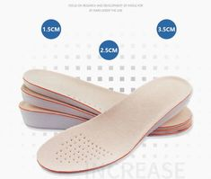 Product: Height Increase Insoles Gender: Unisex Material: EVA, Soy Fiber, Osole Size: You can cut the shoes pad according to your shoes size. Condition: 100% Brand New Insole type: health care insole The insole can be cut to fit your shoes most. Healthy insole, healthy sports, healthy life. Height Insoles, Man Pad, Increase Height, How To Grow Taller, Floral Print Maxi Dress, Feet Care, Your Shoes, Deodorant, Heeled Mules