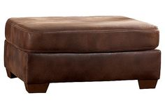"""The Frontier Ottoman from Ashley Furniture HomeStore (AFHS.com). The """"Frontier-Canyon"""" upholstery collection features rich upholstery fabric surrounding a stylish contemporary frame to create the ultimate collection to enhance the beauty and comfort of any living area. Contemporary Frames, Chair And Ottoman, Furniture Sale, Cozy House, Living Area, Beautiful Homes, Upholstery, Ultimate Collection, Spin"""
