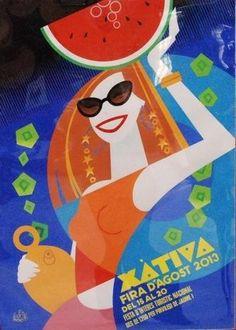 Feria de Agosto de Xàtiva. Del 15 al 20  Stands de exterior, carpas y haimas. Todo el montaje exterior por Firex Stands sl.