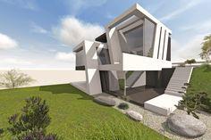 Modernes Architektenhaus in Dortmund am Phoenixsee