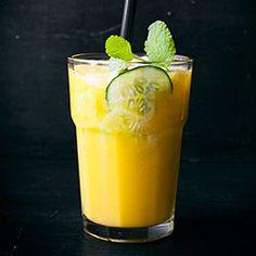 Smoothie z mango i ogórka | Kwestia Smaku
