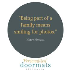 Tag that person in your family who loves taking family photos at the strangest times. Go on, nominate them we dare you.  #afterpayobsession #afterpay #uniqueobsession #australiawide #australiawideshipping #supportsmallbusiness #lmbdw #mumswhoshop #brisbanemums #goldcoastmums #queenslandbusiness #personaliseddoormats #familyname #personalisedgifts #fronthomedecor #frontroomdecor #homemade #homeinspiration #homeinspo #personalisedpresents #birthdaygift #christmasgift #housewarmingpresent… Personalized Door Mats, Personalized Gifts, Front Room Decor, Family Meaning, Housewarming Present, Support Small Business, Your Family, Doormat, Dares