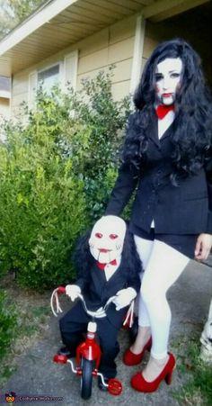 Billy Jigsaw - 2015 Halloween Costume Contest via @costume_works