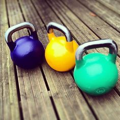 Kettlebells (this one's for my hubs)