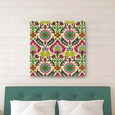 Desert Flower Canvas Wall Art