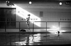 something about this photograph #pool #light #swimming #vintage