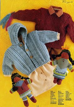 Jacket Stephanie free knit pattern