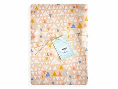 Fitted cot sheet organic baby bedding modern nursery by Edenest