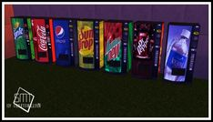 Vending Machine Recolors 2T4 at Sims Modern Technology • Sims 4 Updates