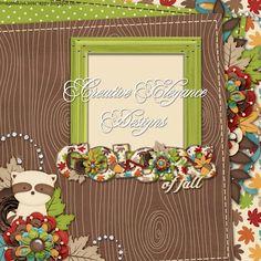 Scrapbooking TammyTags -- TT - Designer - Creative Elegance Designs, TT - Item - Quick Page, TT - Theme - Autumn or Thanksgiving