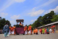 京都三大祭の葵祭の斎王代