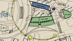 Climate And Sun Path Discover Design: A Student Design - - jpeg Landscape Architecture Design, Architecture Drawings, Sun Path Diagram, Plan Sketch, Site Analysis, Building Plans, Graphic Design, Student, Poster