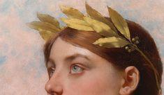 """detailsofpaintings: """" Jules Lefebvre, Allégorie de la Victoire (detail) 19th century """""""