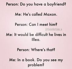 But, like, he's Maxon!!!<<< I have that like with every boy character, but I still want him to be with his girlfriend, cause they're my OTP