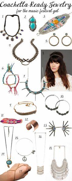 Coachella Jewelry Guide