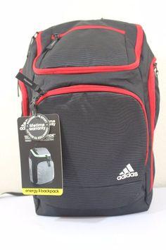6f46decf92 Adidas energy II backpack unisex black   red tech friendly climaproof   adidas  Backpack Adidas