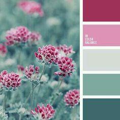 Cool Colour Palette, Green Color Palettes, Color Schemes With Gray, Sage Color Palette, Color Schemes Design, Spring Color Palette, Pink Palette, Rainbow Palette, Color Palate