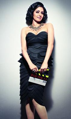 Sridevi's Filmfare Magazine India August 2012 Pictures.   Bollywood Cleavage