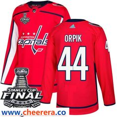 c03141303 Washington Capitals  44 Brooks Orpik Red Stitched Adidas NHL Home Men s Jersey  with 2018 Stanley