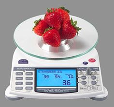 Top of the line Food Scale for the most serious Bodybuilder… Calculates: calories, sodium, fat, carbohydrates, net carbohydrates, cholesterol, fiber, protein and glycemic index for precise portion management.