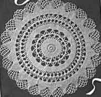 allcrafts.net/crochet/crochetdoilies.htm a site with links to over 300 free doily crochet patterns