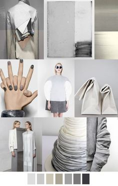 #Farbbberatung #Stilberatung #Farbenreich mit www.farben-reich.com F/W 2017 Women's Colors Trend: GREYED OUT