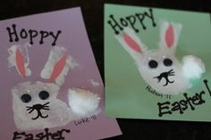 Easter hand print craft