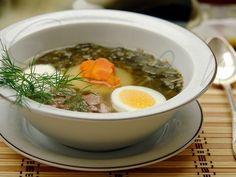 Весенний зеленый суп из крапивы