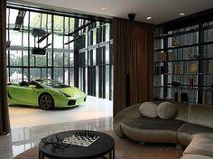 WEB LUXO - IMÓVEIS DE LUXO: Edifício de luxo em Cingapura tem garagem na sala