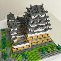 «3일만에 완성!  Nanoblock Himeji Castle! #nanoblock#nanoblocks#lego#la#losangeles#japan#daily#himeji#나노블럭#레고#일본#미국#엘에이#일상#팔로우#하메지»