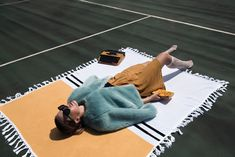 """""""Look to the horizon where it has no beginning and no end, where the heat of the desert or deep lumpy ocean meets the cool blue sky. It's a feeling. It's an endless summer."""" ~ ☀️ __ 📸: Art direction & styling by & 💛 Ceramic Artists, Art Direction, Outdoor Blanket, Ocean, Sky, Deep, Ceramics, Summer, Blue"""