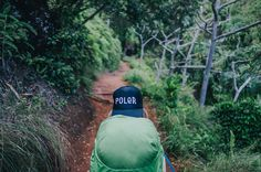 Poler Furry Font trucker hat on an adventure..... Just ordered this one! So excited!