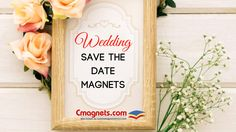 Share the exciting news of your wedding to friends and family with our wedding save the magnet collection ! #autumnwedding #savethedate #models #freeshipping