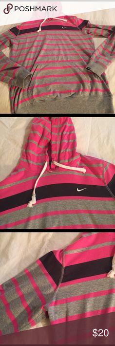Nike Girls hoodie. Fits as a small women's Nike Hoodie. Soft great pullover Nike Tops Sweatshirts & Hoodies