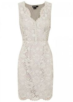 DKNY lace dress. Perfect for rehearsal/reception