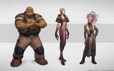 ArtStation - Force and Destiny RPG artwork, Audrey Hotte Star Wars Characters Pictures, Star Wars Images, Character Concept, Character Design, Character Ideas, D&d Star Wars, Aliens, Star Wars Concept Art, Alien Concept