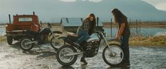 Jacob: You look scared.  Bella: I'm not. Jacob: Alright! Brake.    Clutch. Good. Gas. Ready? - New Moon