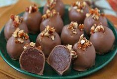 Coconut Macaroons, Dulce de Leche, and Chocolate Recipe White Chocolate Truffles, Chocolate Bourbon, Decadent Chocolate, Chocolate Recipes, Cake Chocolate, Chocolate Cream, Cake Truffles, Coconut Truffles, Coconut Macaroons