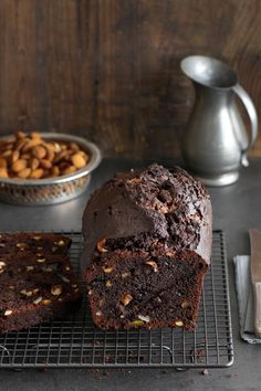 Pierre Herme Chocolate and Nut Cake