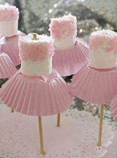 Hapjes voor een kinderfeestje -Part #5. Creatief met snoep - Ballerinasnoepjes #partyfood #kids #snacks #ballerina #candy #blog #Beaublue