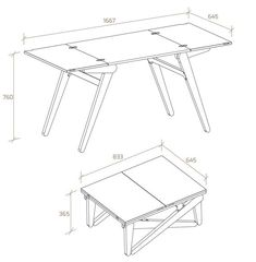 Folding Furniture, Smart Furniture, Space Saving Furniture, Metal Furniture, Furniture Projects, Furniture Design, Coffee Table To Dining Table, Extendable Dining Table, Dining Table In Kitchen