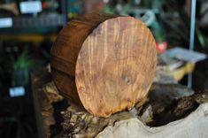 "High Figure Maple Burl Turning Blank/Bowl Stock 4.75""  Diameter 1.875"" Deep"