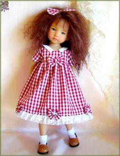 """Mary Dress for 13"""" Effner Little Darling Vinyl Studio Doll   eBay:"""