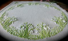 Check out this item in my Etsy shop https://www.etsy.com/uk/listing/462725099/vintage-hand-embroidered-snowdrops-linen